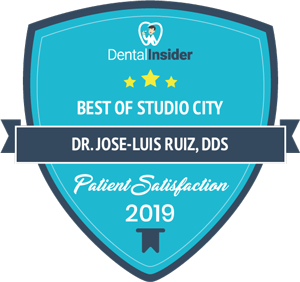 Best of Studio City Patient Satisfaction badge